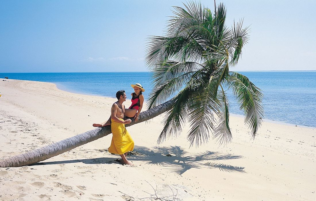 port-douglas-holiday-couple-palm